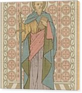 Saint Paul Wood Print by English School