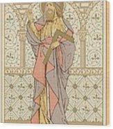 Saint Thomas Wood Print by English School