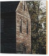 Sawmill Sunlight  Wood Print by Olivier Le Queinec