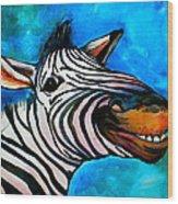 Say Cheese Wood Print by Debi Starr