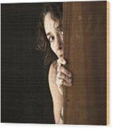 Scared Wood Print by Edward Fielding