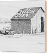 See Rock City Wood Print by Paul Shafranski