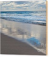 Self Reflection Wood Print by Michelle Wiarda
