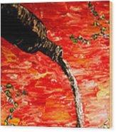 Sensual Fruit Wood Print by Mark Moore