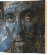 Shackled And Drawn Wood Print by Paul Lovering