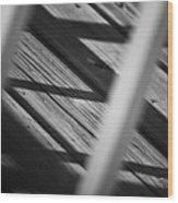 Shadows Of Carpentry Wood Print by Christi Kraft