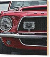 Shelby Mustang Wood Print by Gordon Dean II