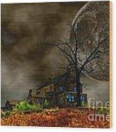 Silent Hill 2 Wood Print by Dan Stone
