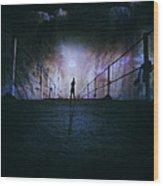 Silent Scream Wood Print by Stelios Kleanthous