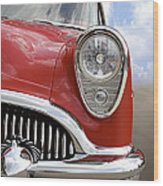 Sitting Pretty - Buick Wood Print by Mike McGlothlen