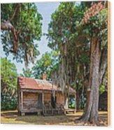 Slave Quarters 2 Wood Print by Steve Harrington