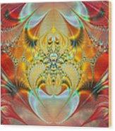 Sleeping Genie Wood Print by Ian Mitchell