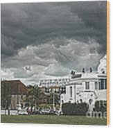 Southampton Royal Pier Hampshire Wood Print by Terri Waters