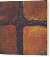 Southern Cross Wood Print by Jim Ellis