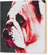 Southern Dawg By Sharon Cummings Wood Print by Sharon Cummings