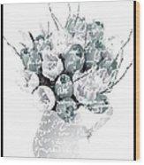 Speak Softly Tulips Wood Print by Debra  Miller
