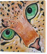 Spotted Wood Print by Debi Starr