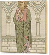 St Bartholomew Wood Print by English School
