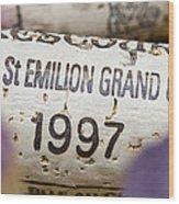 St Emilion Grand Cru Wood Print by Frank Tschakert