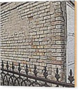 St Louis Cemetery No. 1 Wood Print by Beth Vincent