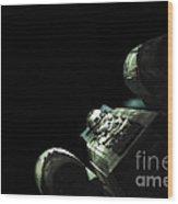 Star Wars X-wing Wood Print by Micah May