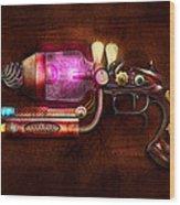 Steampunk - Gun -the Neuralizer Wood Print by Mike Savad