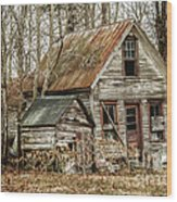 Still Standing Wood Print by Terry Rowe