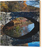 Stone Bridge Wood Print by Jim  Calarese