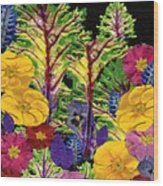 Story Book Forest Wood Print by Kathie McCurdy