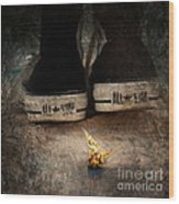 Strange Cold Feeling Wood Print by Stelios Kleanthous