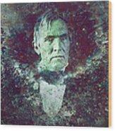 Strange Fellow 2 Wood Print by James W Johnson