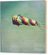 Summer Wind Wood Print by Perry Webster
