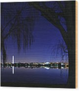 Swamp Land No More Wood Print by Metro DC Photography
