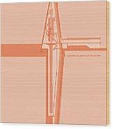 Swedish Vacuum Solar Telescope Wood Print by Peter Cassidy