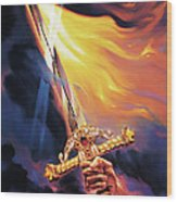 Sword Of The Spirit Wood Print by Jeff Haynie