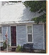 Tailor Shop - Perryville Ky Wood Print by Thia Stover