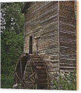 Tall Mill Wood Print by Dave Bosse
