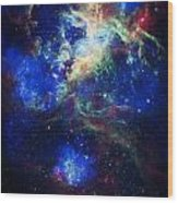 Tarantula Nebula 5 Wood Print by Jennifer Rondinelli Reilly - Fine Art Photography