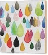 Tears Of An Artist Wood Print by Linda Woods