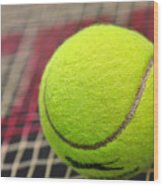 Tennis Anyone... Wood Print by Kaye Menner