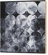 The 13th Dimension Wood Print by Menega Sabidussi