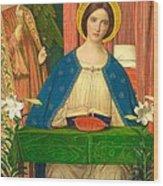 The Annunciation Wood Print by Arthur Joseph Gaskin