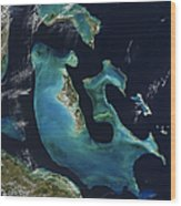 The Bahamas Wood Print by Adam Romanowicz