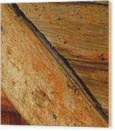 The Barn Door Wood Print by William Jobes
