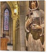 The Benedictine Order Wood Print by Lee Dos Santos