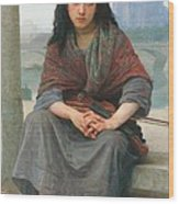 The Bohemian Wood Print by William Adolphe Bouguereau