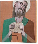The Bread Of Life Wood Print by Anthony Falbo