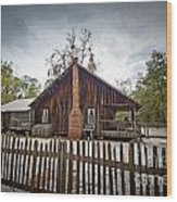 The Chesser Homestead Wood Print by Southern Photo