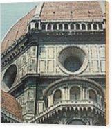 The Duomo Firenze Wood Print by Melinda Saminski