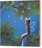 The Enchanted By Shawna Erback Wood Print by Shawna Erback